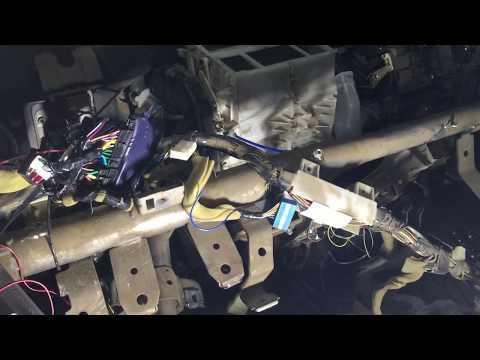 Снимаем печной радиатор Mitsubishi lancer 9