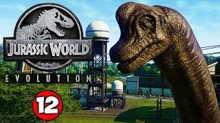 BRACHIO BREAKOUT! Jurassic World Evolution Gameplay #12