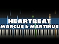 Marcus Martinus Heartbeat Piano Tutorial mp3