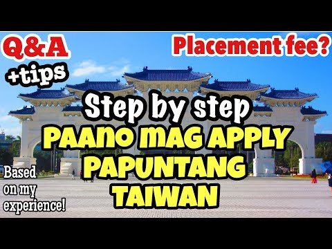 Factory Worker In Taiwan, Paano Mag Apply? | Step By Step Guide | How To Apply In Taiwan +Tips!