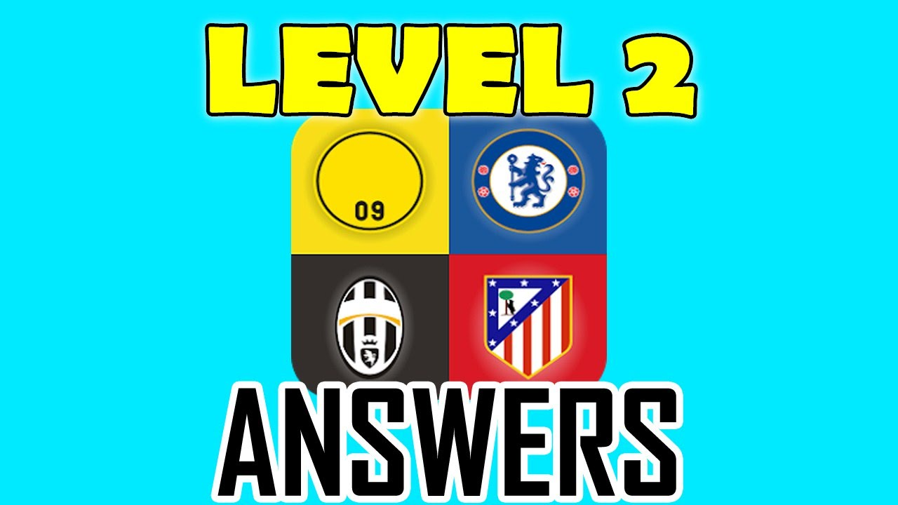 Football Clubs Logo Quiz Level 2 All Answers Walkthrough Youtube