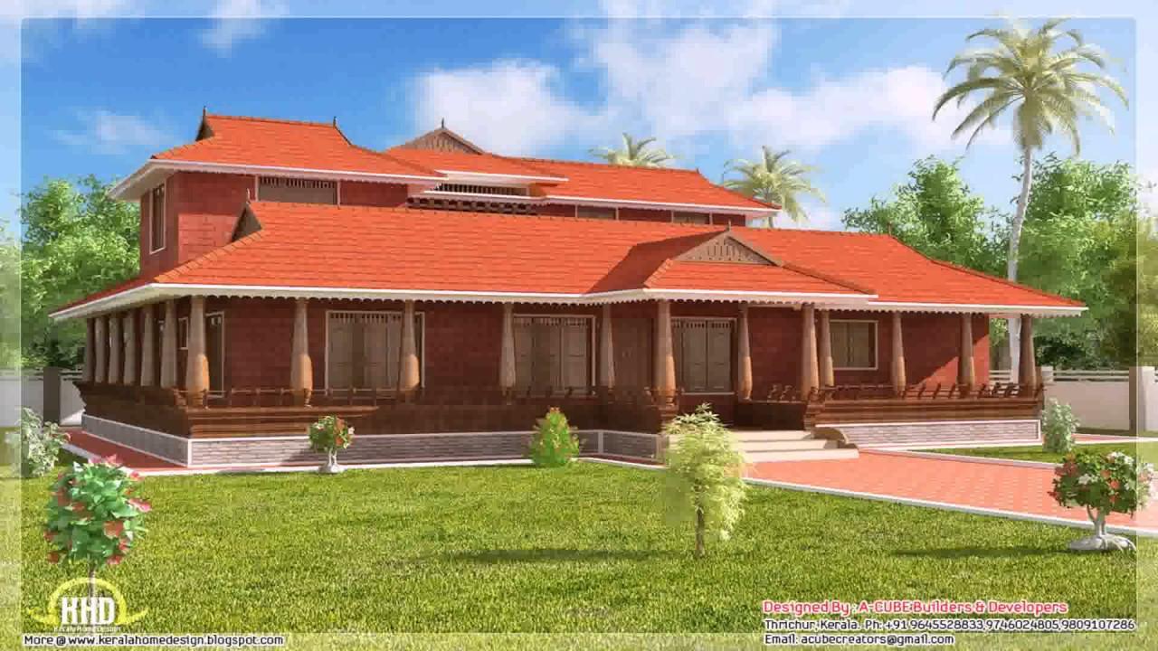 House renovation kerala style youtube for Kerala nadumuttam house plans