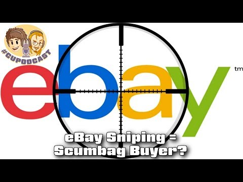 Is Sniping eBay Auctions Wrong?