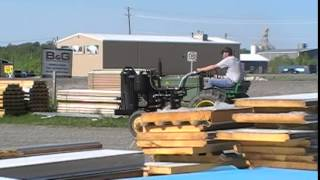John Deere M, Wood Gas Tractor Project