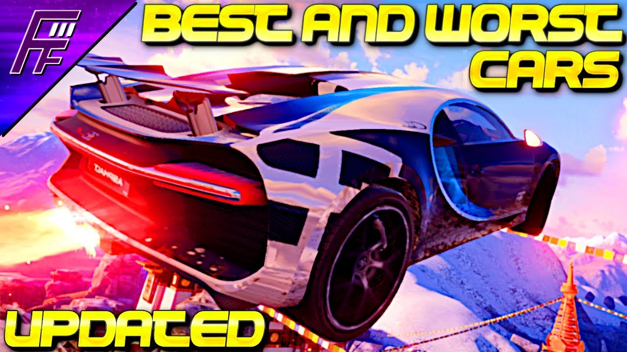 Updated best and worst cars in each class in asphalt 9