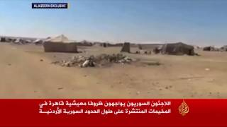 مأساة إنسانية بمخيمات اللاجئين على الحدود الأردنية
