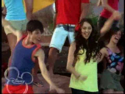 Miley Cyrus on High School Musical 2
