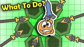 What Should YOU Do If You Are Trapped?? + Youtubers vs Hackers FFA Highlights! (Moomoo.io)