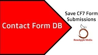 How To Save Contact Form 7 Form Submissions