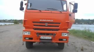 Работа Двигателя КАМАЗ 740 с системой КОММОН РЕЙЛ!