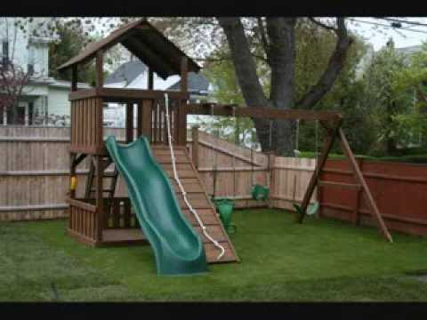 Artificial Turf Installation Playground