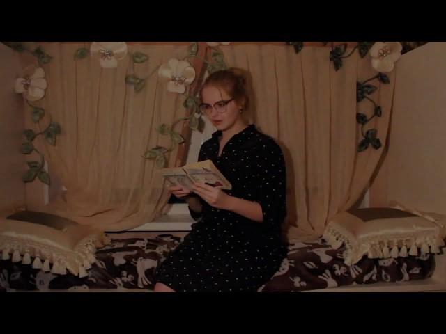 Изображение предпросмотра прочтения – ДарьяБышова читает произведение «Вчера еще в глаза глядел...» М.И.Цветаевой