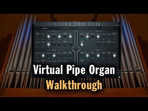 Fredonia Grand Organ Walkthrough (VST, AU, AAX)