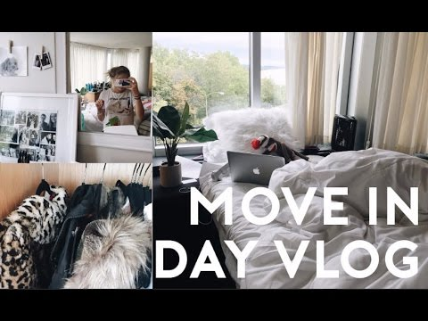COLLEGE MOVE IN DAY VLOG 2016 // moving in and getting settled: SU