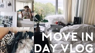 COLLEGE MOVE IN DAY VLOG 2016 // moving in and getting settled: Syracuse University thumbnail