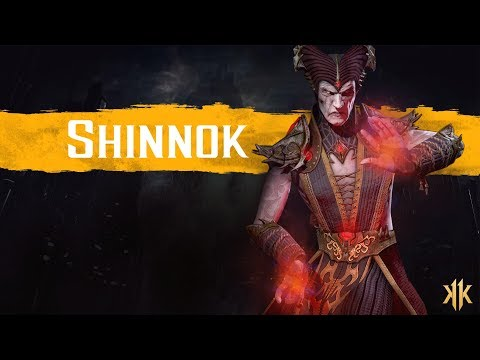 Mortal Kombat 11 - Shinnok Reveal Trailer thumbnail