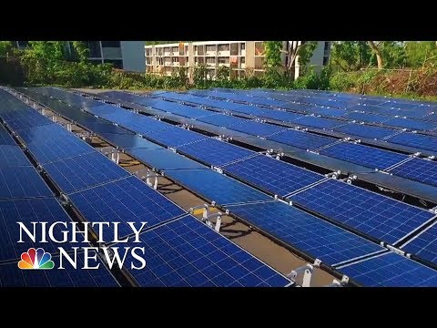 Could Solar Technology Be The Answer To Puerto Rico's Problems? | NBC Nightly News
