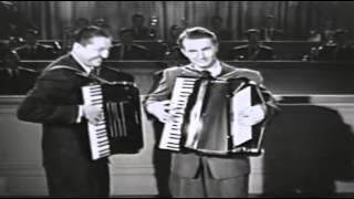 "Lawrence Welk & Myron Floren - ""Twelfth Street Rag"" (1955)"