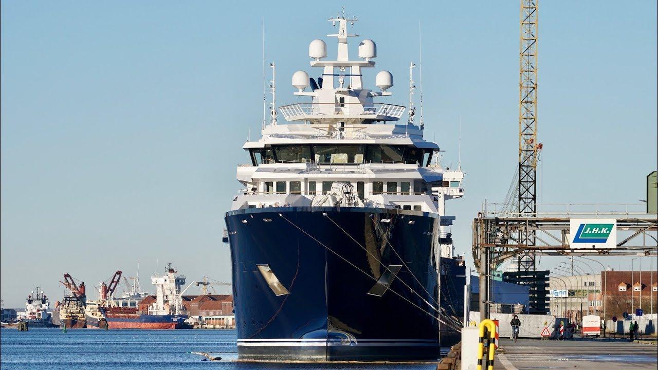 116m Kleven Explorer Yacht Ulysses Delivered Boat International
