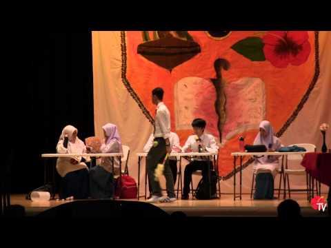 Iowa State University Malaysian Cultural Night 2014: Sekolah Part 2