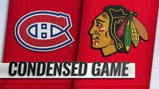 Montreal Canadiens vs Chicago Blackhawks | Dec.09, 2018 | Game Highlights | NHL 2018/19 |Обзор матча