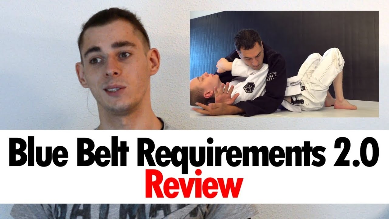 Blue Belt Requirements 2 0 First Review • BJJ Course by Roy Dean