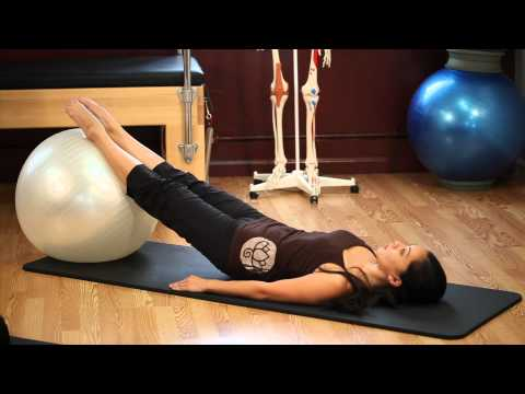 Upside-Down Pilates - Exercise Ball - Lesson 53 - Full 30 Minute Pilates Workout - HD