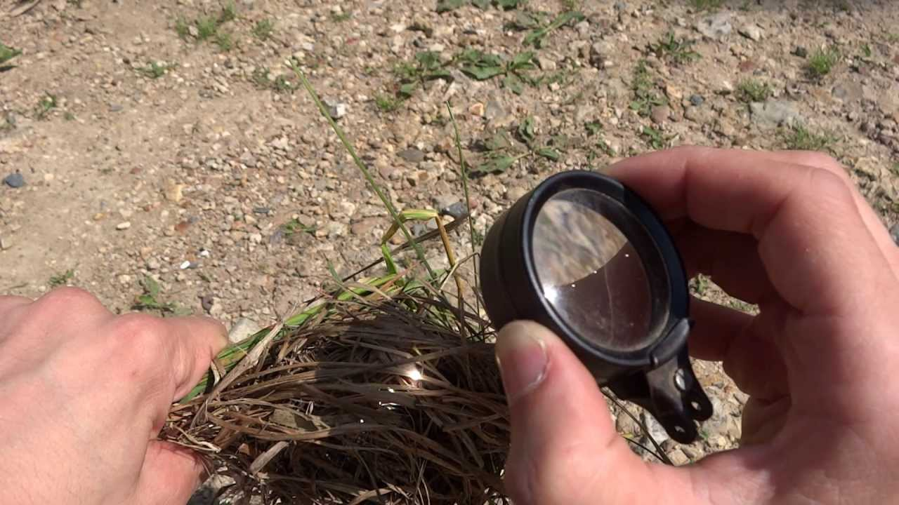 Bushcraft Magnifying Glass