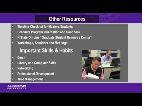 Graduate School - New Student Orientation