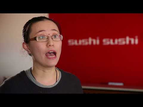 Stacey Jiang, Sushi Sushi Franchise Partner at Hoppers Crossing, VIC