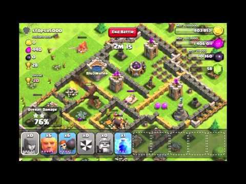 Clash of Clans - Episode 3 (Mass Archer Raid)
