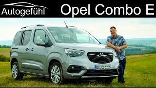 Opel Combo Life FULL REVIEW SWB vs LWB & Cargo preview Vauxhall Combo E - Autogefühl