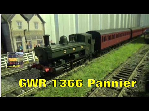 Heljan 1322 GWR 1366 Pannier Unboxing and Review