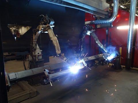 MOTOMAN / MILLER ROBOTIC WELDING CELL