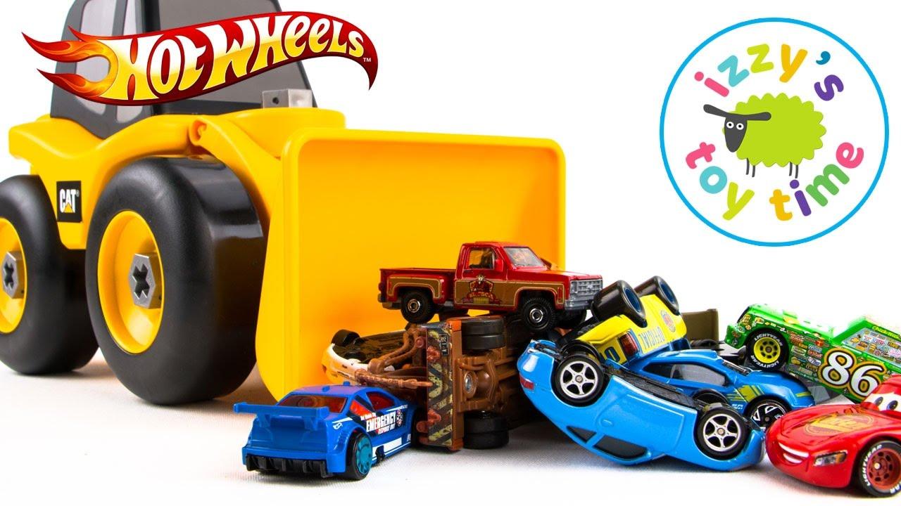 Cars For Kids Take Apart Bulldozers Hot Wheels And Disney Pixar