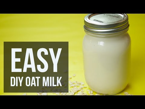 Easy DIY Oat Milk | Simple Homemade Non-Dairy Milk Recipe by Forkly