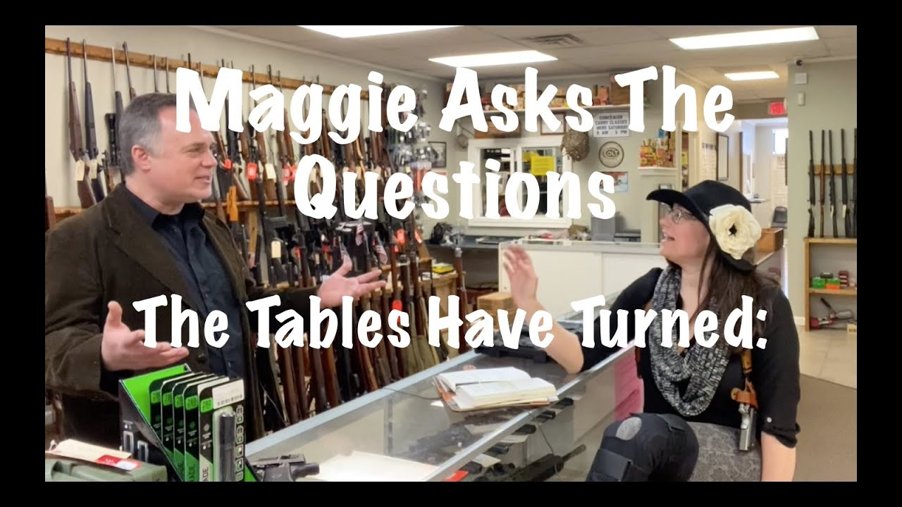 The Tables Have Turned : Maggie Asks The Questions