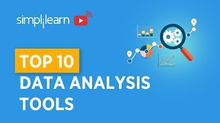 Top 10 Data Analysis Tools | Top Data Analytics Tools | Data Analytics | Simplilearn