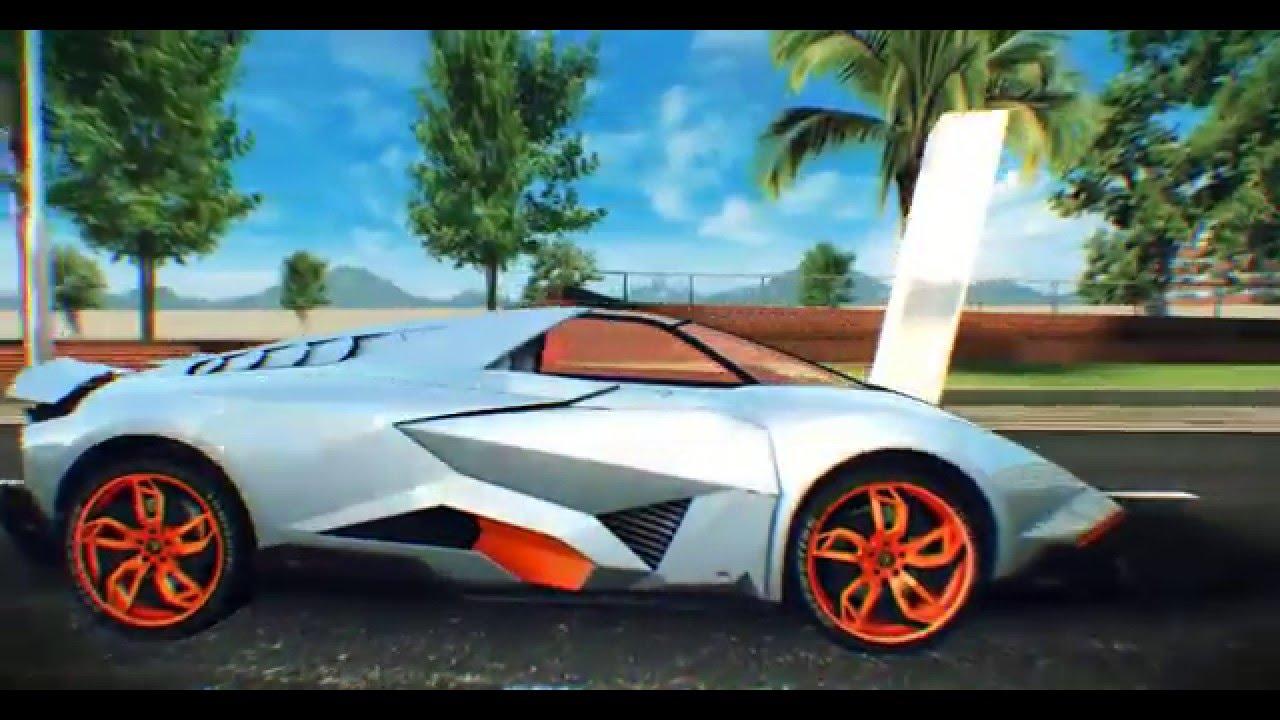 Lamborghini Egoista Asphalt 8 Airborne Android Windows Ios Gameplay Youtube