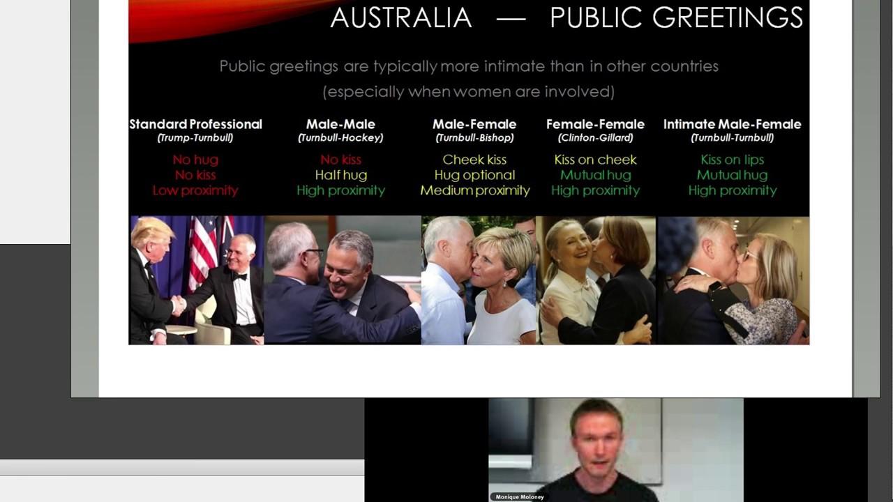 Non Verbal Greetings In Australian Culture Youtube