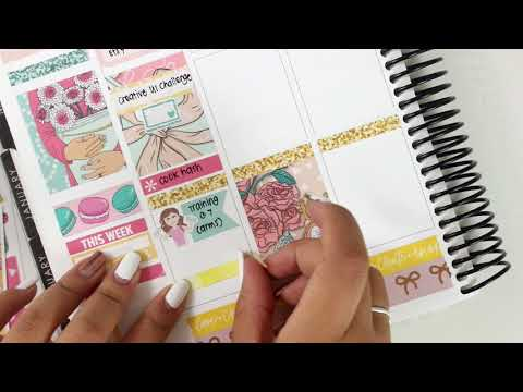 Plan with Me featuring Scribble Prints Co | Love Shaira