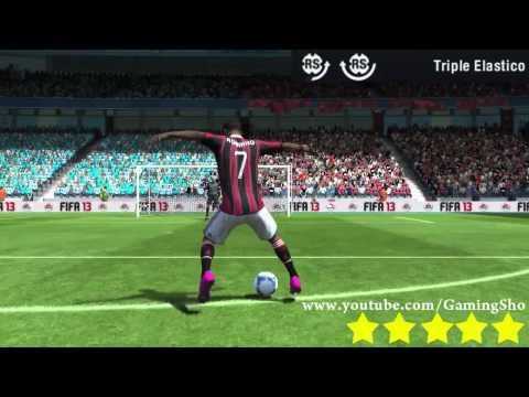 FIFA 13 - Как делать финты? Все 51 финтов. Видео урок