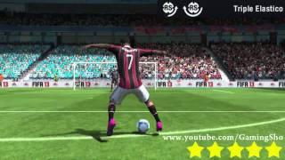 FIFA 13 - Как делать финты? Все 51 финтов. Видео урок(Больше деталей о FIFA 13 на сайте http://fifaonline.com.ua/ или вконтакте: http://vk.com/fifasoccer_news или в твиттере: https://twitter.com/#!/FIFAOnli..., 2012-10-09T10:44:58.000Z)