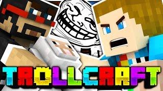 Minecraft | SPARKLEZ KILLED ALFRED TROLL?! - Troll Craft