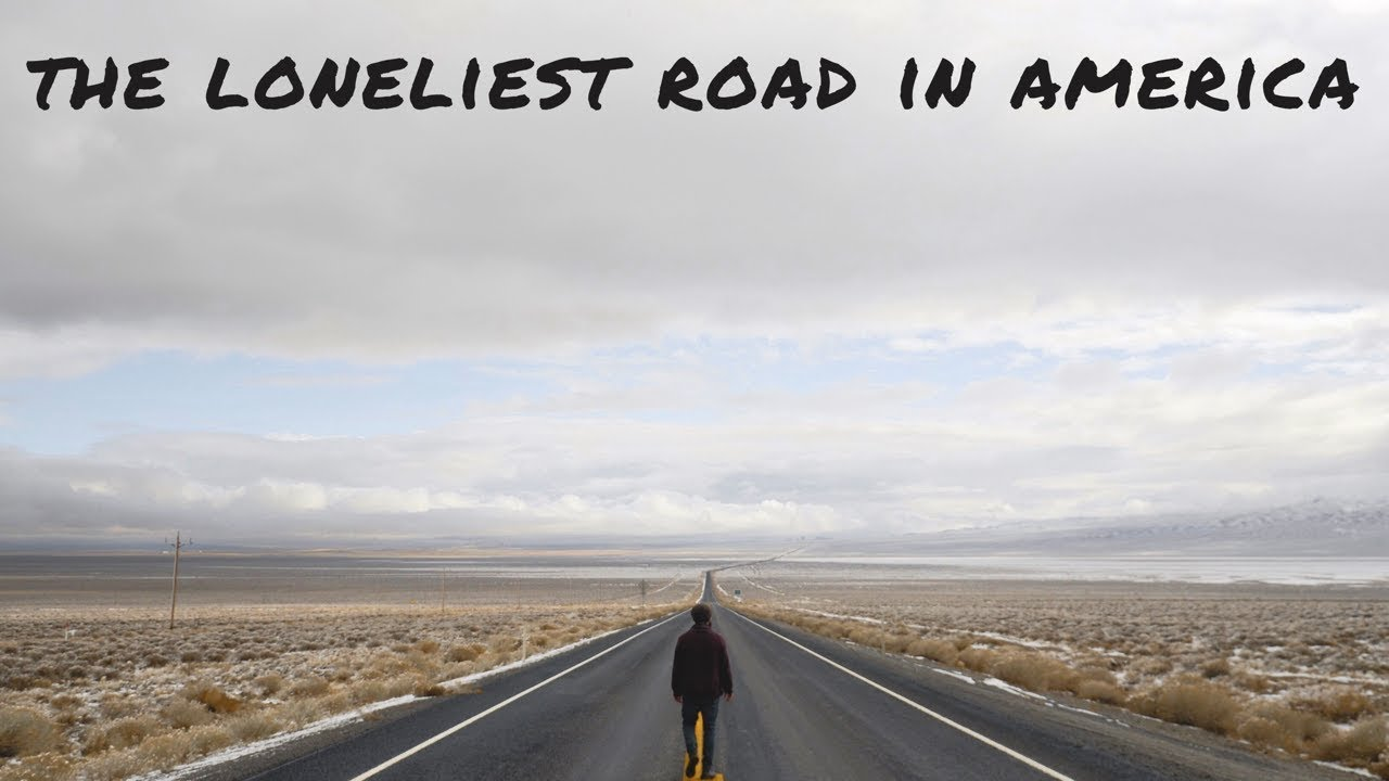 Loneliest Road In America Map.Vanlife On The Loneliest Road In America Youtube
