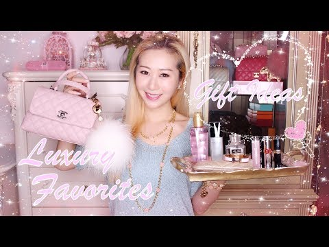 MY TOP 10 LUXURY FAVORITES & CHRISTMAS GIFT IDEAS  2017 ✨🎁✨ FASHION & BEAUTY ❤️
