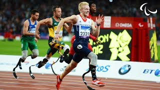 vuclip Athletics - Men's 100m - T44 Final - London 2012 Paralympic Games