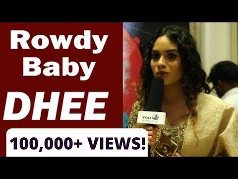 Rowdy Baby Singer Dhee | Exclusive | YouThamizha