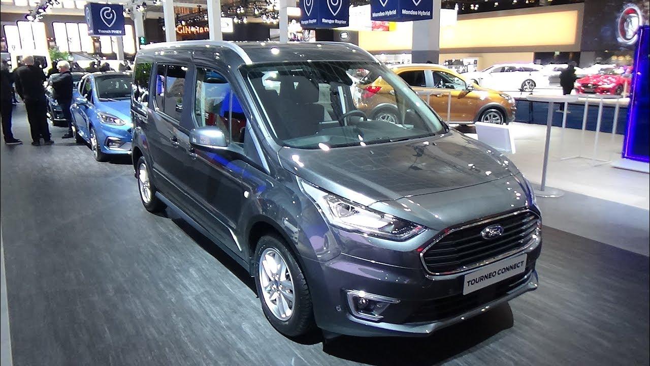 2019 ford tourneo connect titanium 1 5 tdci ecoblue 120 ext interior auto show brussels. Black Bedroom Furniture Sets. Home Design Ideas