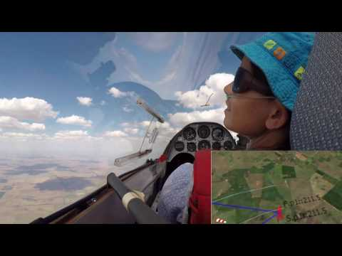 Speed record in a Duo Discus | Gliding | 100km FAI triangle